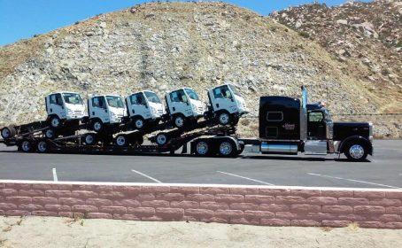 unimark trucking, unimark lowboy, lowboy transportation company